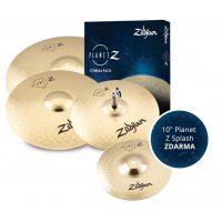 "Zildjian Planet Z 4 Cymbal pack + 10"" Planet Z Splash"