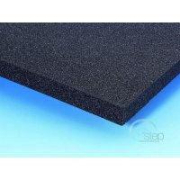 Adam Hall PE Plastazote Foam Black 10 mm